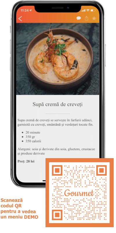 aplicația gourmet
